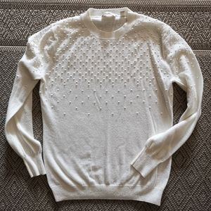 Ted Baker sweater cream with dots cashmere